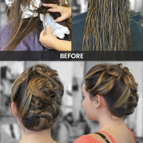 Hair Style and Hair Color